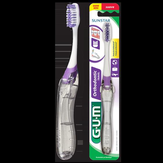 Escova De Dente Adulto Para Viagem GUM