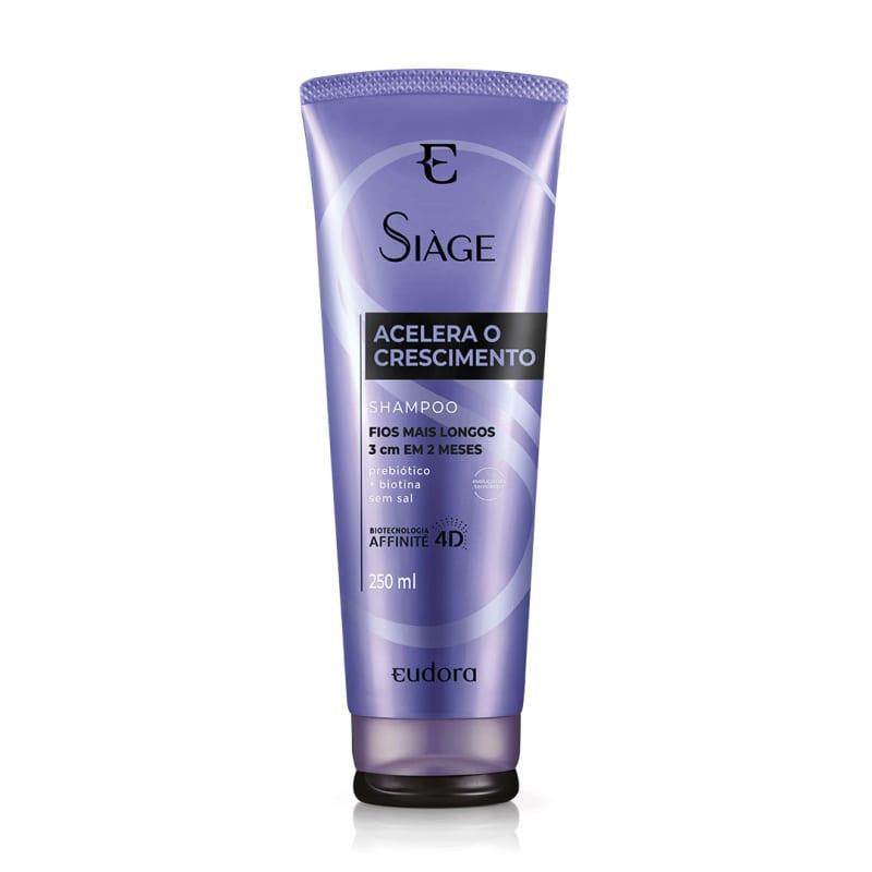 Shampoo Siàge Acelera o Crescimento 250ml